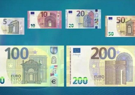 Ecco le nuove banconote da 100 e 200 euro