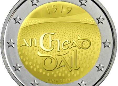 Irlanda, 2 euro commemorativo 2019