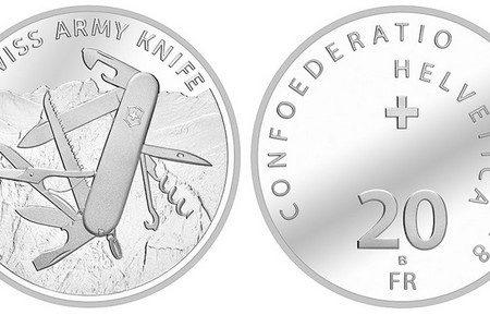 20 franchi 2018 per il coltellino svizzero