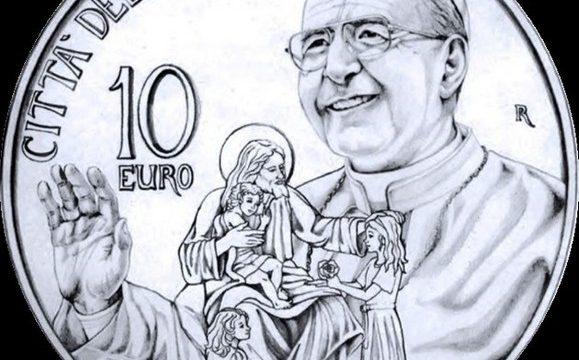 Vaticano, 10 euro 2018 per Giovanni Paolo I