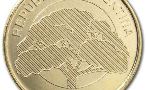 Argentina, nuove monete da 2 e 10 pesos