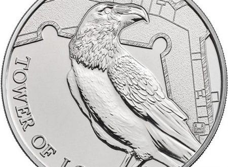 Gran Bretagna, moneta per i corvi della Torre di Londra