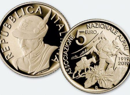 Italia, 5 euro 2019 per gli alpini