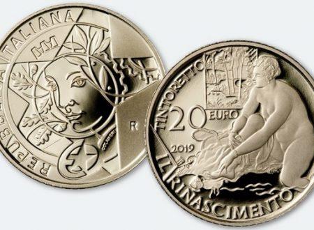 Italia, 20 euro 2019 per il Tintoretto