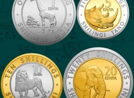 Il Kenya rinnova le monete ordinarie