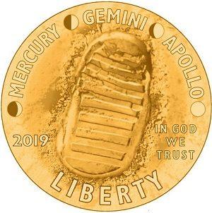 Usa, due monete per lo sbarco sulla luna