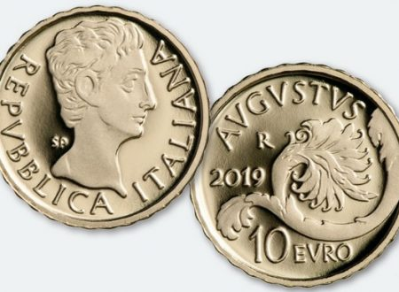 Italia, 10 euro 2019 per Ottaviano Augusto