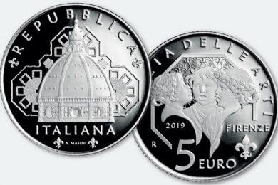 Italia, 5 euro 2019 per il duomo di Firenze