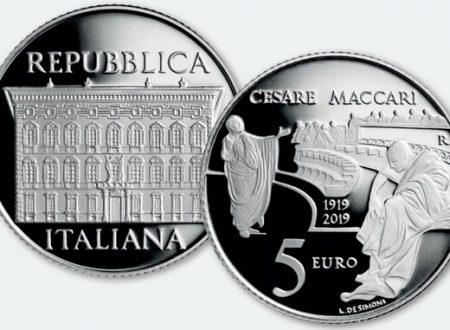 Italia, 5 euro 2019 per Cesare Maccari