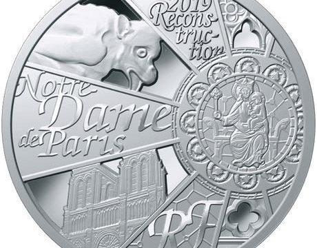 Francia, moneta per la ricostruzione di Notre Dame