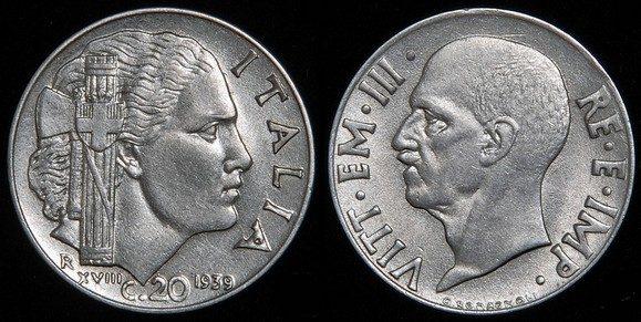 C'è la sorella della Petacci su una moneta del Regno?