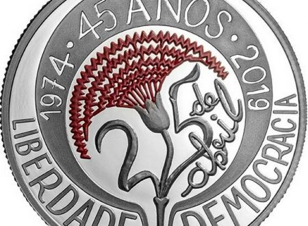 Portogallo, 5 euro 2019 per la rivoluzione dei garofani
