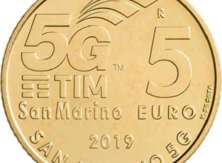 San Marino, 5 euro 2019 per il 5G