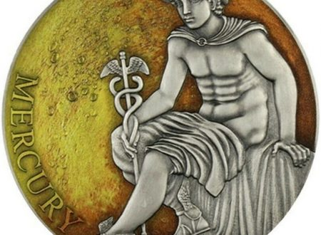 Camerun, moneta per il dio Mercurio