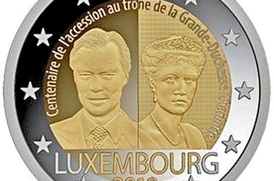 Lussemburgo, 2 euro commemorativo 2019 per Carlotta
