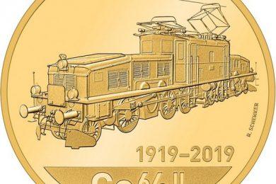 Svizzera, 50 franchi 2019 per la locomotiva Coccodrillo