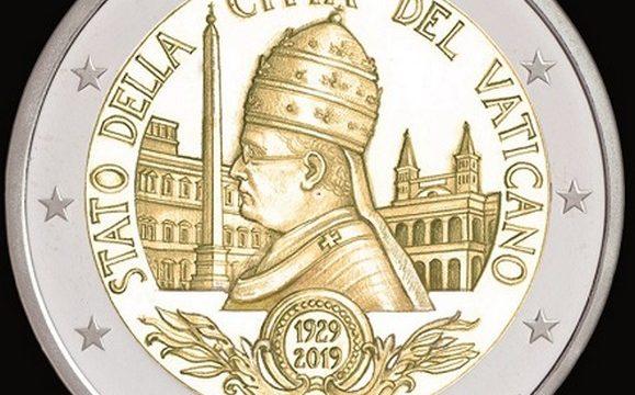 Vaticano, 2 euro commemorativo 2019 Patti Lateranensi