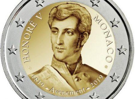 Monaco, 2 euro commemorativo 2019