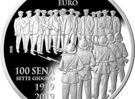 Malta, 10 euro 2019 per il Sette Giugno