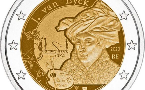Belgio, i due 2 euro commemorativi 2020