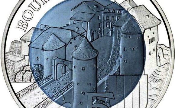 Lussemburgo, 5 euro 2019 per il castello di Bourglinster