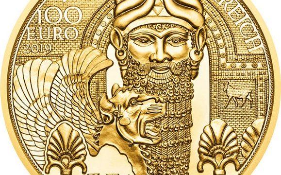 Austria, moneta per l'oro in Mesopotamia