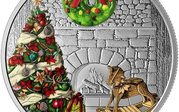 Canada, un'oncia d'argento per il Natale 2019
