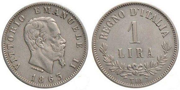 24 agosto 1862: la lira diventa la moneta italiana
