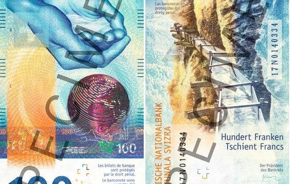 Svizzera, arriva la nuova banconota da 100 franchi