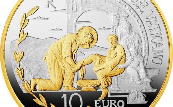 Vaticano, 10 euro 2019 per la Pace