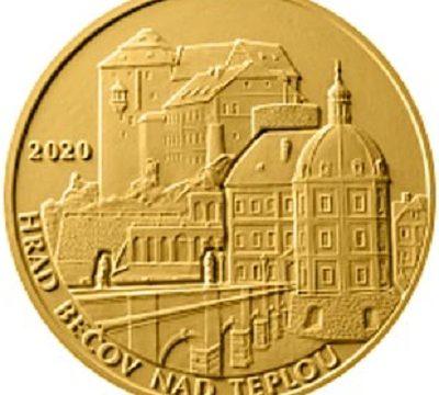 Repubblica Ceca, moneta per il castello di Bečov nad Teplou