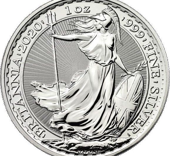 L'oncia d'argento Britannia 2020