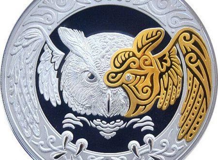 Kazakistan, monete per il gufo totemico