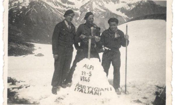Partisans italiens sur le col du Lautaret (photos inédites)