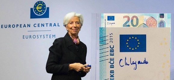 Arriva la firma della Lagarde sulle banconote