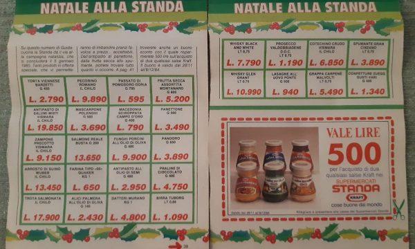 Le offerte della Standa per il Natale 1984