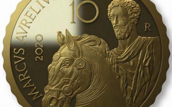 Italia, 10 euro 2020 per Marco Aurelio