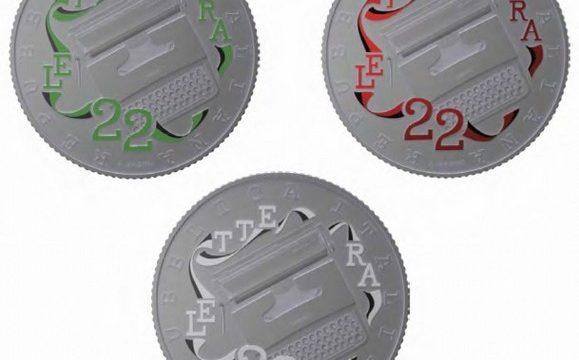 Italia, 5 euro 2020 per la Olivetti Lettera 22
