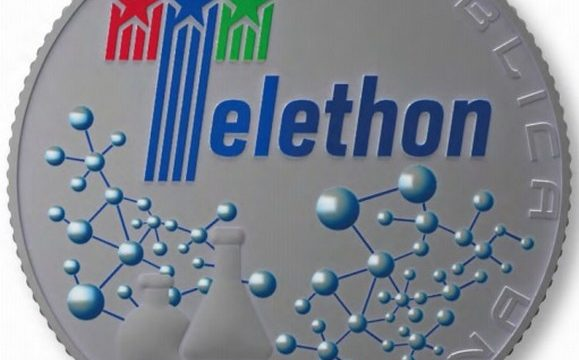 Italia, 5 euro 2020 per Telethon