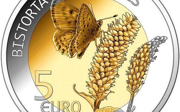 Lussemburgo, 5 euro 2020 per la bistorta