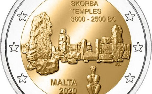 Malta, 2 euro commemorativo 2020 per Scorba