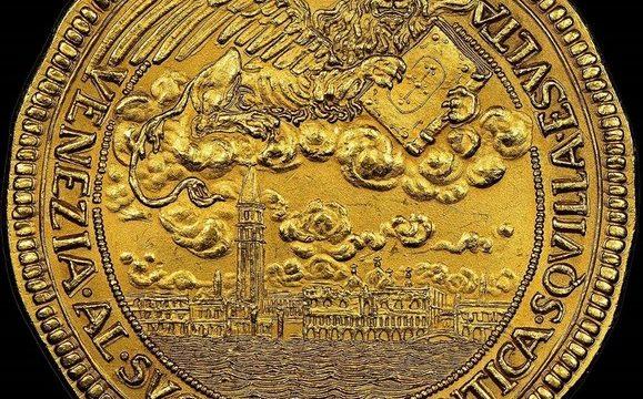 Venezia, medaglie per il nuovo campanile di San Marco (1912)