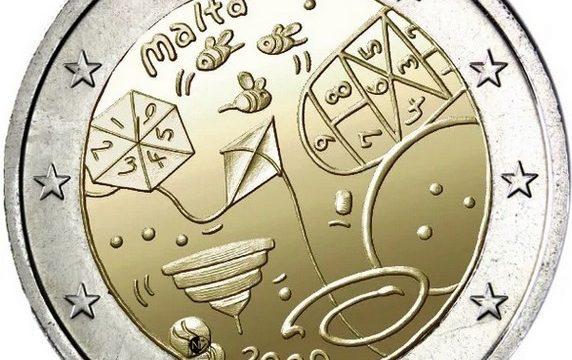 Malta, 2 euro commemorativo 2020 per i giochi
