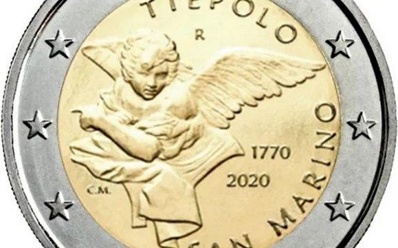 San Marino, 2 euro commemorativo 2020 Tiepolo