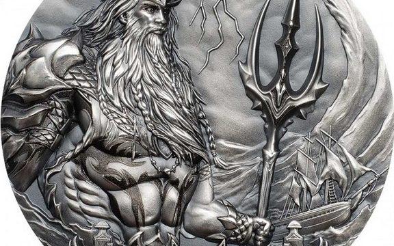Cook, moneta per il dio Poseidone