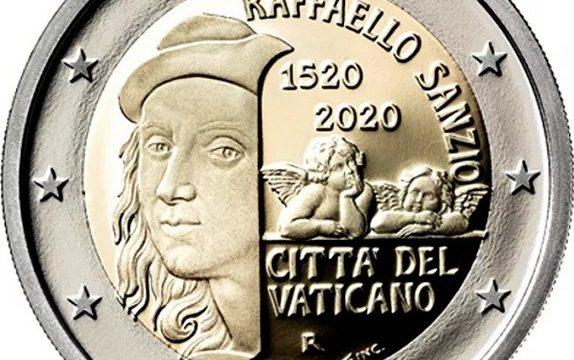 Vaticano, i due 2 euro commemorativi 2020