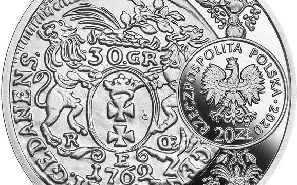Polonia, 20 zloty 2020 per Augusto III