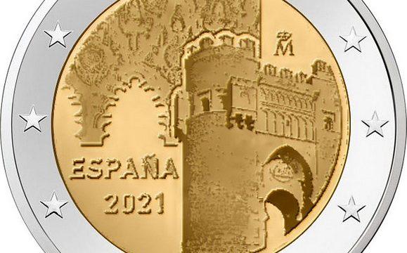Spagna, 2 euro commemorativo 2021