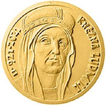 Repubblica Ceca, moneta per Ludmilla di Boemia