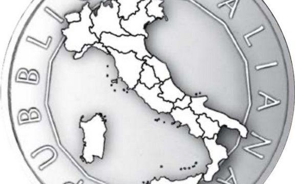 Italia, 5 euro 2020 per le regioni